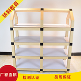 Cute kids shelf bookcase for kids furniture kindergarten furniture paper tube furniture
