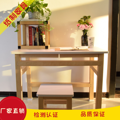 Healthy paper desk writing table computer tablepaper furniture for home or office space